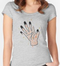 Sleight of Hand Women's Fitted Scoop T-Shirt