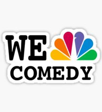 NBC we peacock comedy Sticker