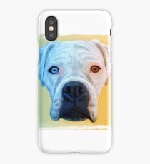 White Boxer iPhone Case/Skin