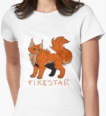 Feuerstern Tailliertes T-Shirt für Frauen