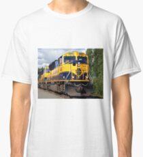 Alaska Railroad train engine Classic T-Shirt