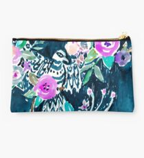 BIRD OF HEY - INDIGO Studio Pouch