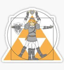 Hylian Man Sticker
