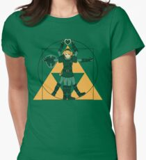 Hylian Man Womens Fitted T-Shirt