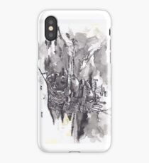 Howls Moving Castle India Ink iPhone Case/Skin