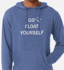 Geh schwimm dich selbst Leichter Hoodie