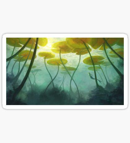 Sea Lilly Sticker