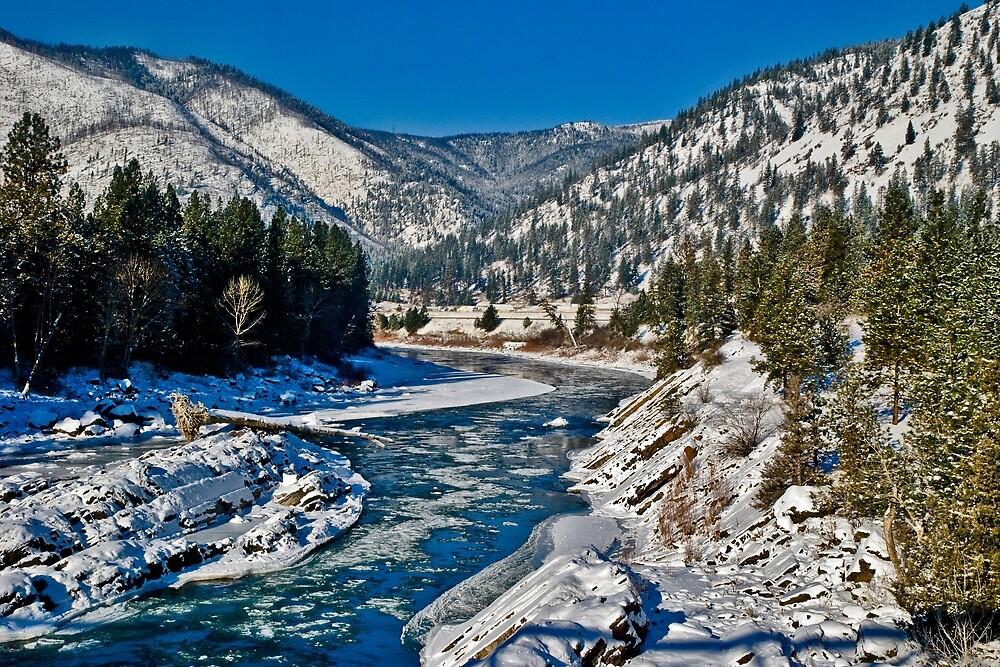 « La fourchette Clark à Alberton, Montana » par Bryan Spellman