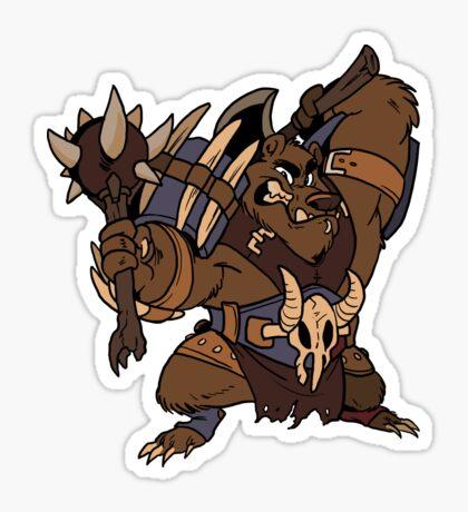 Beast Brigands - Bear Sticker Sticker