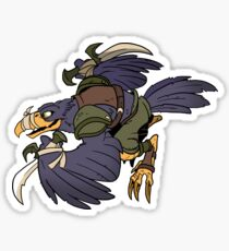 Beast Brigands - Crow Sticker Sticker