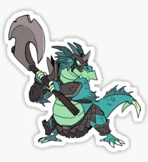 Beast Brigands - Dragon Sticker Sticker
