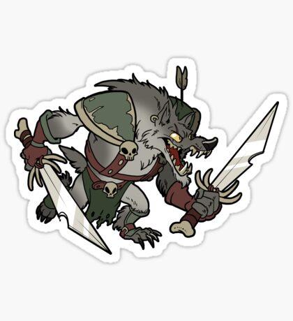Beast Brigands - Wolf Sticker Sticker