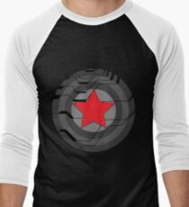 Winter Soldier Shield Baseball ¾ Sleeve T-Shirt