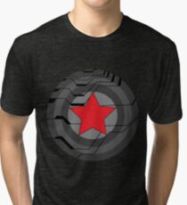 Winter Soldier Shield Tri-blend T-Shirt
