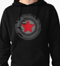 Winter Soldier Shield Pullover Hoodie