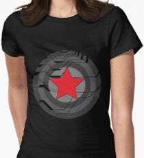 Winter Soldier Shield Women's Fitted T-Shirt