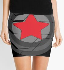 Winter Soldier Shield Mini Skirt