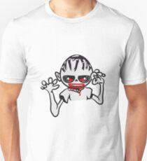zombie funny creepy blood cool Unisex T-Shirt