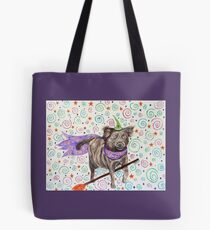 Wizard Dog Tote Bag