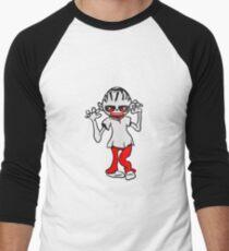 zombie funny creepy blood Men's Baseball ¾ T-Shirt