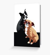 Tuppence and Pepper Greeting Card