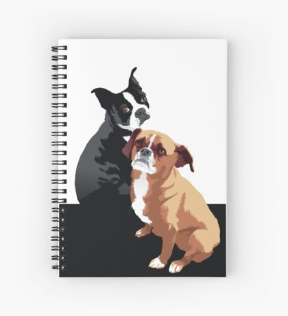 Tuppence and Pepper Spiral Notebook