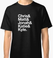 Nerdist Podcast Personnel, Experimental Jetset Style Classic T-Shirt