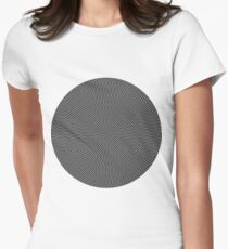 psychedelic spiral in black T-Shirt