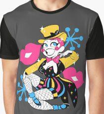 Retro Columbia Pin Up Graphic T-Shirt