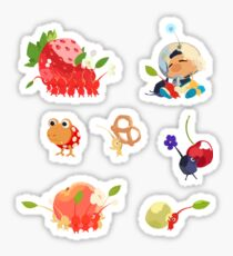 pikmin sticker set  Sticker