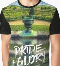 Pride + Glory Versailles Palace Gardens Paris France Graphic T-Shirt