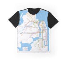 nyc subway Graphic T-Shirt