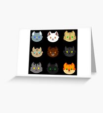 Thunderclan Greeting Card