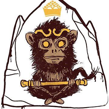 Monkey Stone by TheGoldenStag