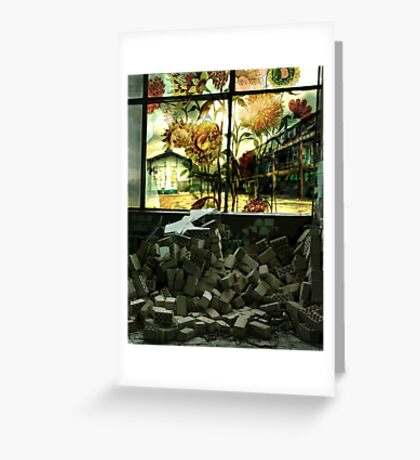 RECLAMATION Greeting Card