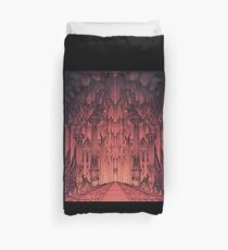 The Gates of Barad Dûr Duvet Cover