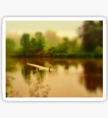 A Little Bit Of Heaven..Boise River..Caldwell, Idaho Sticker