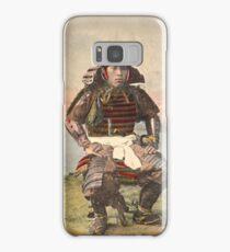 Samurai warrior in armour - 1900 Samsung Galaxy Case/Skin