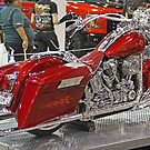 Red Over Chrome by Chet  King