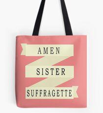 Amen Sister (Ribbon Version) Tote Bag