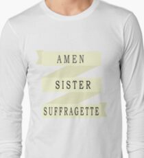 Amen Sister (Ribbon Version) Long Sleeve T-Shirt