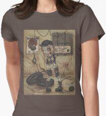 Asylum Par: The Motor Shop - zombie girl Womens Fitted T-Shirt