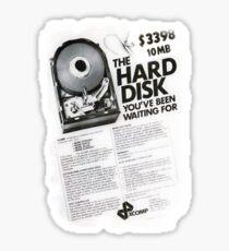 10 megabytes Sticker