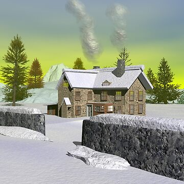 Winter Estate by tiptoprb