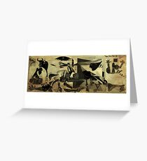Guernica 14 Greeting Card