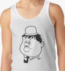 Oliver Hardy Tank Top
