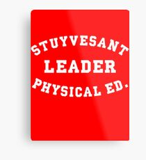 Stuyvesant LEADER Physical ED. Metal Print