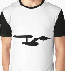 Star Trek Enterprise Silhouette Graphic T-Shirt