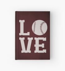 Baseball Love Hardcover Journal