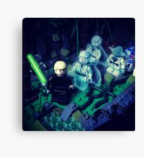 Training With Lost Friends Canvas Print